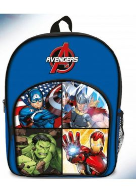New Mavel Avengers Arch School Bag Rucksack Backpack Gift Hulk Ironman Thor Capt