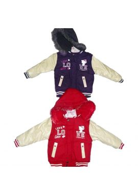 Charmy Kitty Love Girls Baseball Jacket
