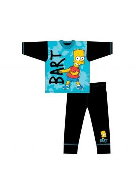 Bart Simpson Pyjamas Pjs Sleepwear Boys Age Official 4 to 10 Years Gift