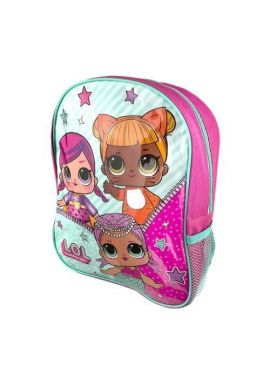 Girls LOL Surprise Doll Backpack Rucksack Pink Bag School Nursery Travel Bag