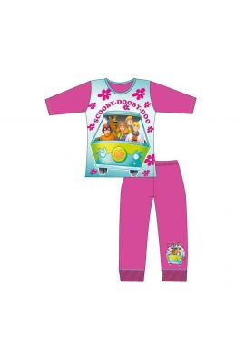 Girls Scooby Dooby Doo Pyjamas Set Age 4-10 Years