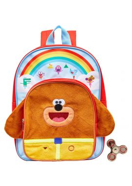 Hey Duggee 3D Novelty Arch Backpack And free Spinner