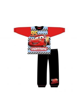 Disney Cars Lightning McQueen Boys  Toddler Long Pyjamas Pjs Age 1-5 Years