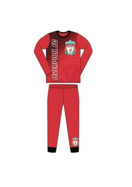 Original Liverpool FC Football Sleeve Sublimation Long Pyjamas Boys 4-5, 5-6, 7-8, 9-10 and 11-12 YEARS