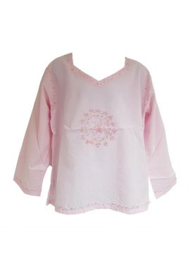 Girls Casual Cotton Long Sleeve Top Blouse Age 7-13 Years