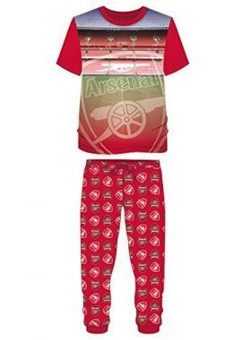 NEW Official Mens Arsenal FC AFC Football Lounge Pants Pyjamas Pajama Set