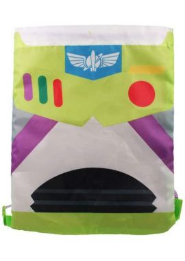 Kids Toy Story Boys Buzz Lightyear Drawstring Novelty Gym Sports Trainer Bag