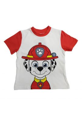 Paw Patrol Children Top Marshall T-Shirt Sizes from 2 to 7 years