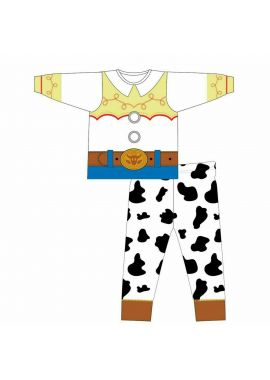 Disney Girls Toy Story Jessie Cowgirl Novelty Licenced Pyjama Set Age 18-24 Months, 2-3, 3-4, 4-5 And 5-6 Years