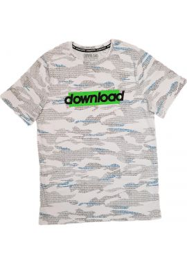 Boys T-shirt Cotton Short Sleeve Summer Download Printed T-shirt Age 2-3, 3-4, 7-8, 9-10, 11-12 And 13-14 Years