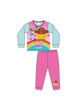 Hey Duggee All Round Girls Pyjama Set Kids Nightwear Pjs Age 18 Month To 5 Y