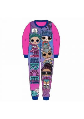 LOL Surprise Girls Kids All In One Piece Sleepsuit Nightwear Pyjamas Age 3-4, 5-6, 7-8 And 9-10 Years