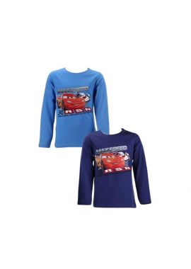 Disney Cars Boys Long Sleeve Top Sizes from 3 years to 8 years