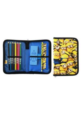 Official Despicable Me Single Zip Filled Pencil Case Fun Gift Official Licensed