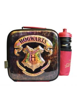 Harry Potter 3D Insulated Lunch Bag With Sport Water Bottle